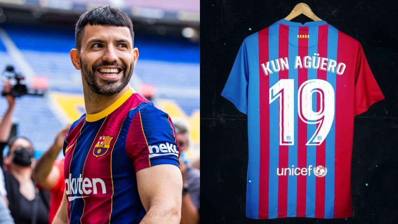 FC Barcelona Kun Agüero número 19