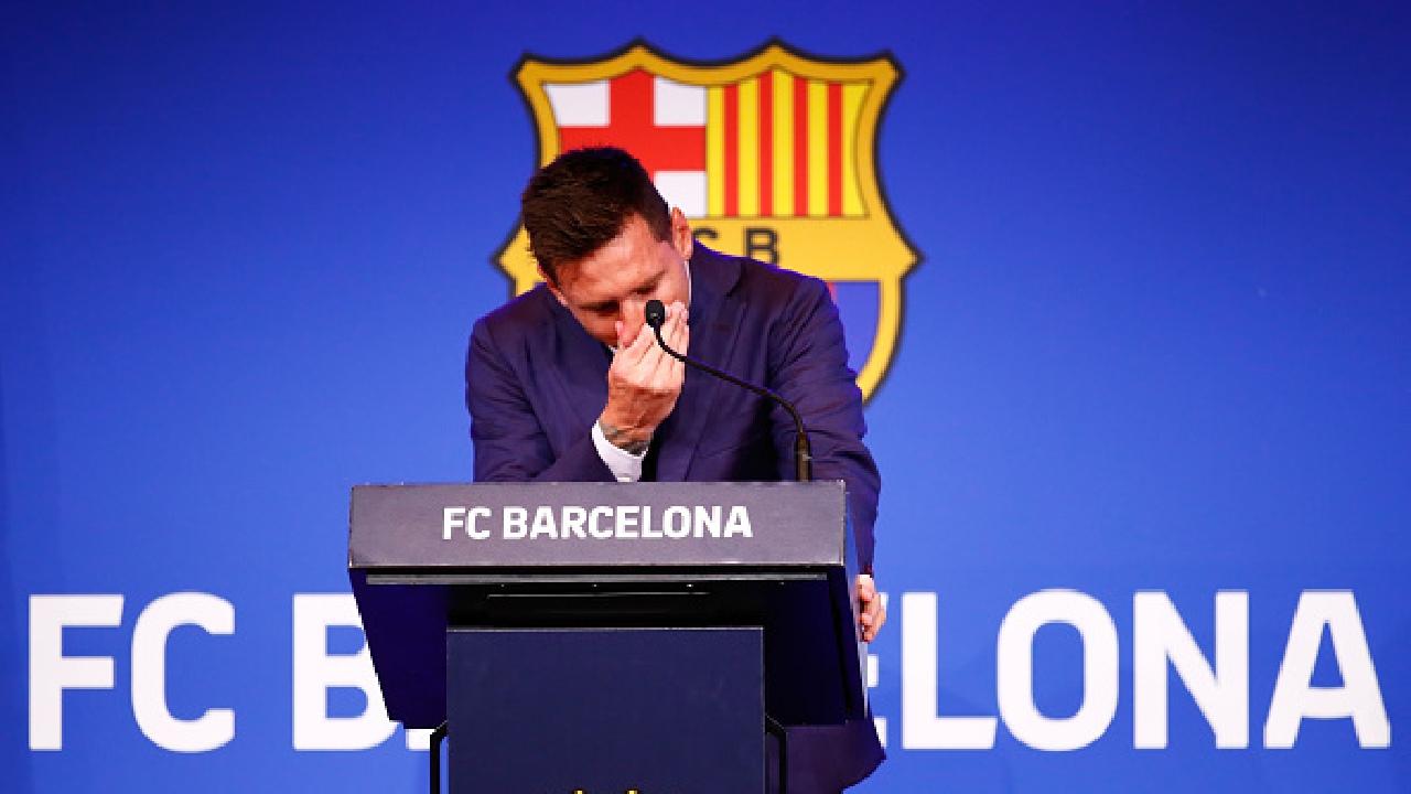 messi se va barcelona despedida