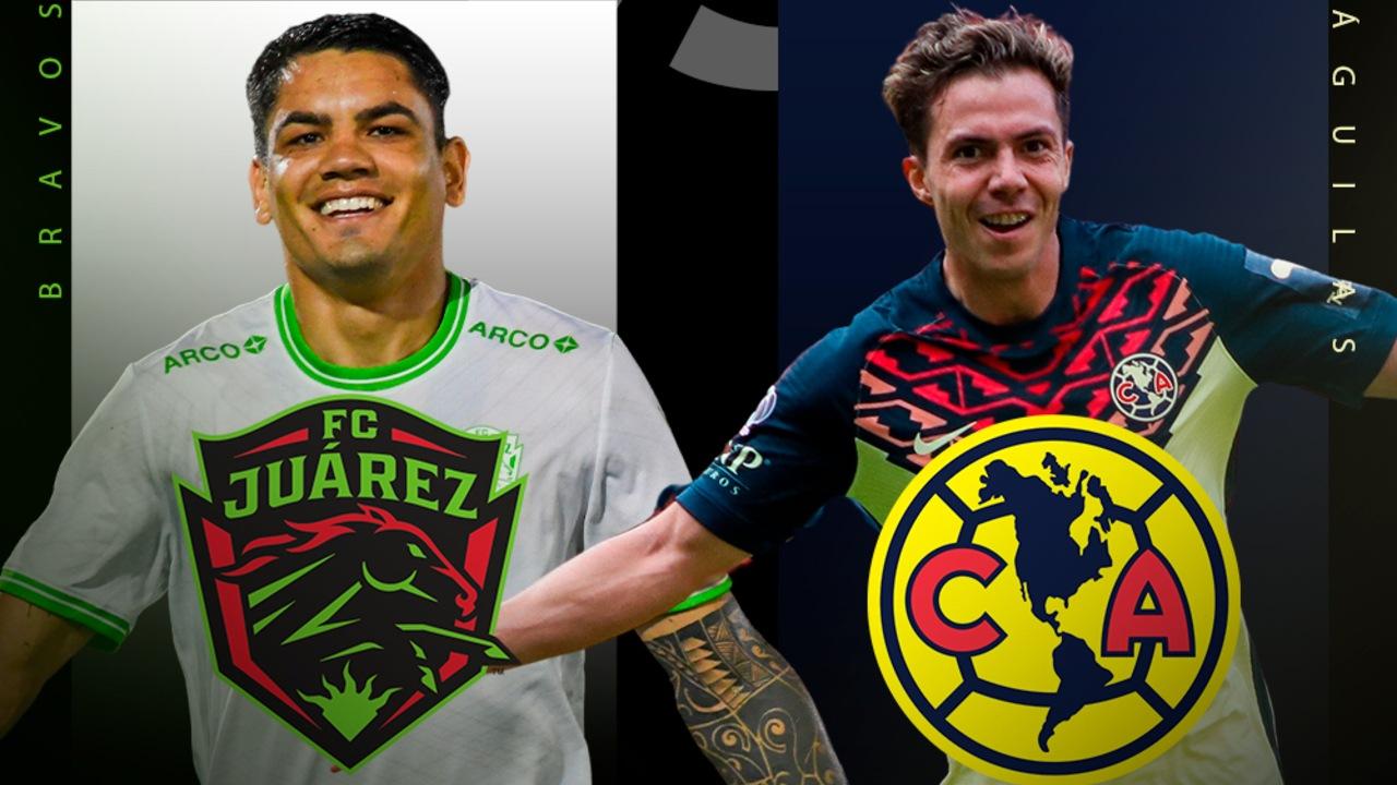 Liga BBVA MX A qué hora juega el América contra Juárez