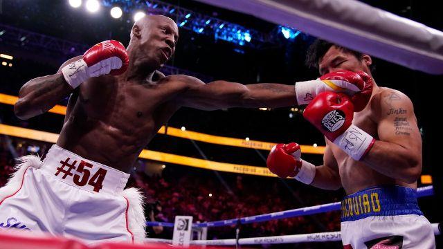 Manny Pacquiao pierde Yordenis Ugás