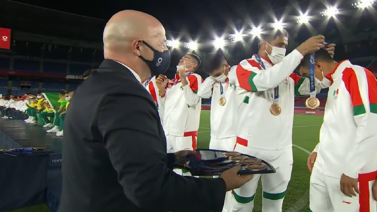 Selección Mexicana Olímpica medalla bronce