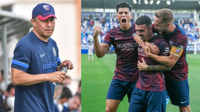 Nacho Ambriz y Huesca debutan con victoria en la nueva temporada de la Segunda División Española
