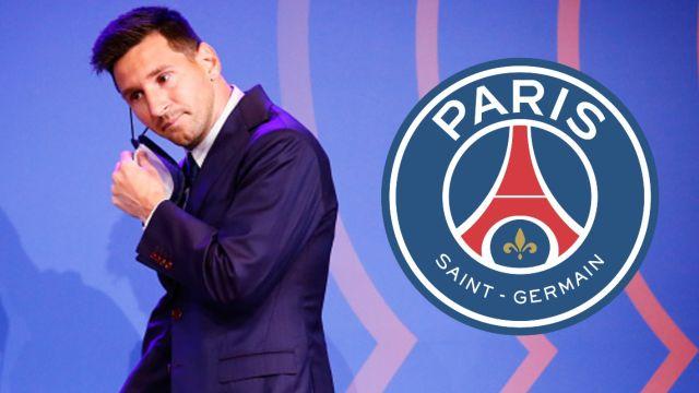 leo messi PSG paris saint germain presentación
