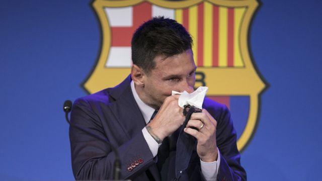 Leo Messi pañuelo usado venta