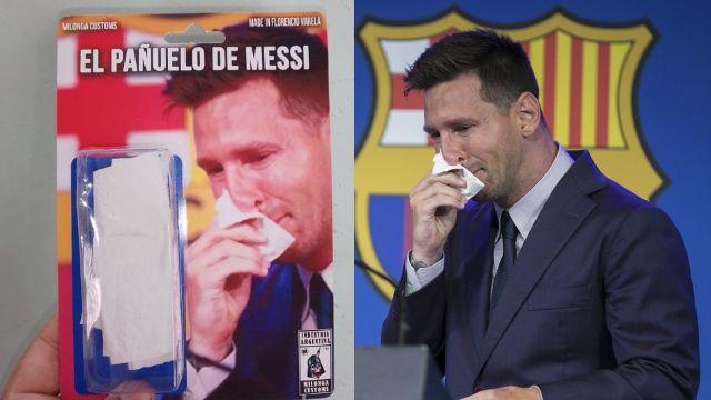Leo Messi réplica pañuelo