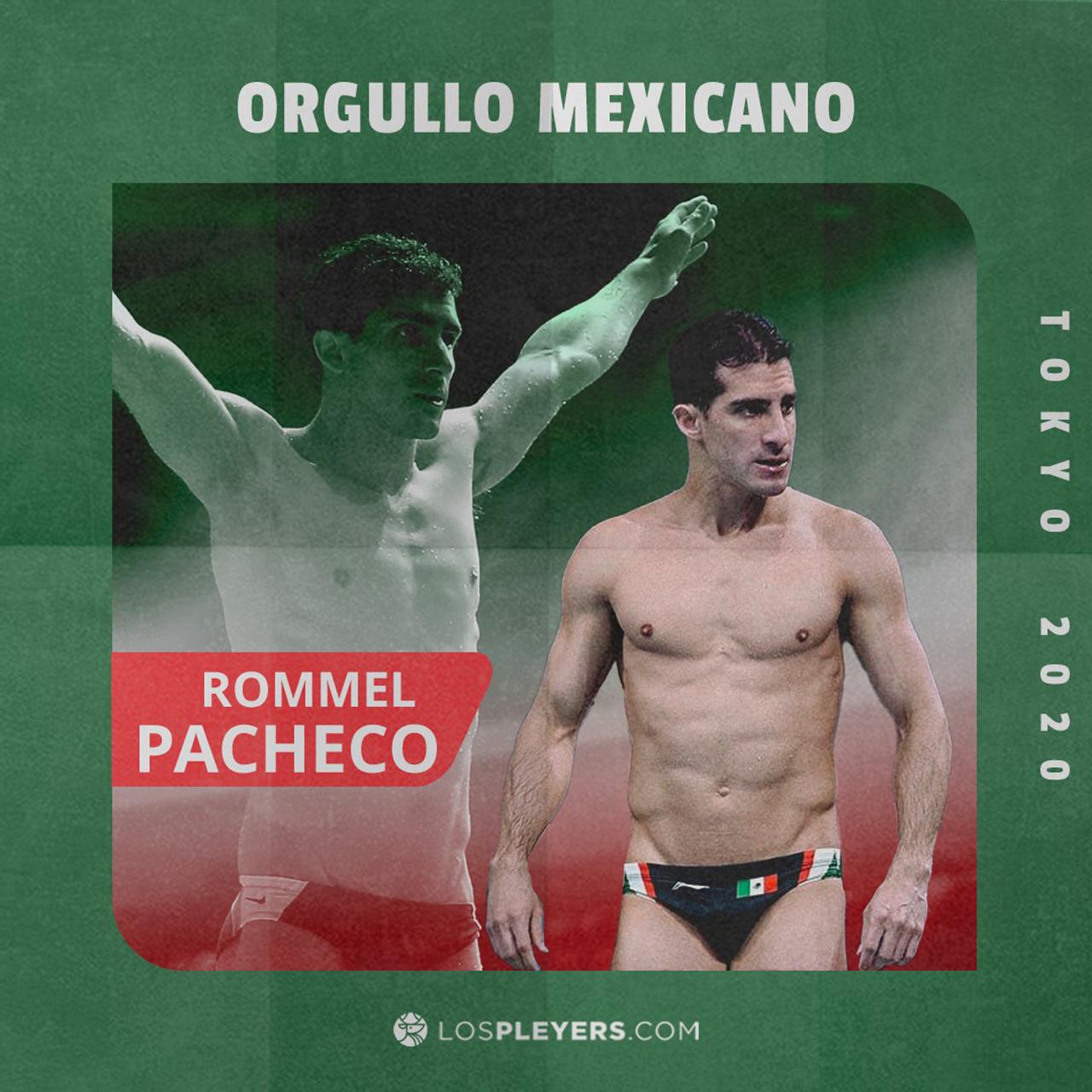 Rommel Pacheco Final trampolin Tokyo 2020 resultado