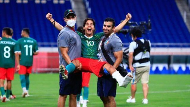 Selección Mexicana Olímpica Diego Lainez tokyo 2020