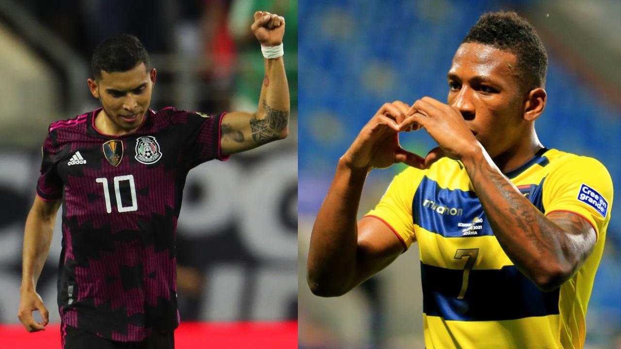 Selección Mexicana partido ecuador 2021