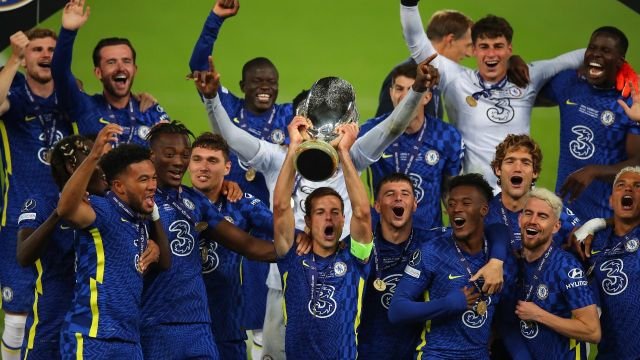 Supercopa de Europa Chelsea campeón