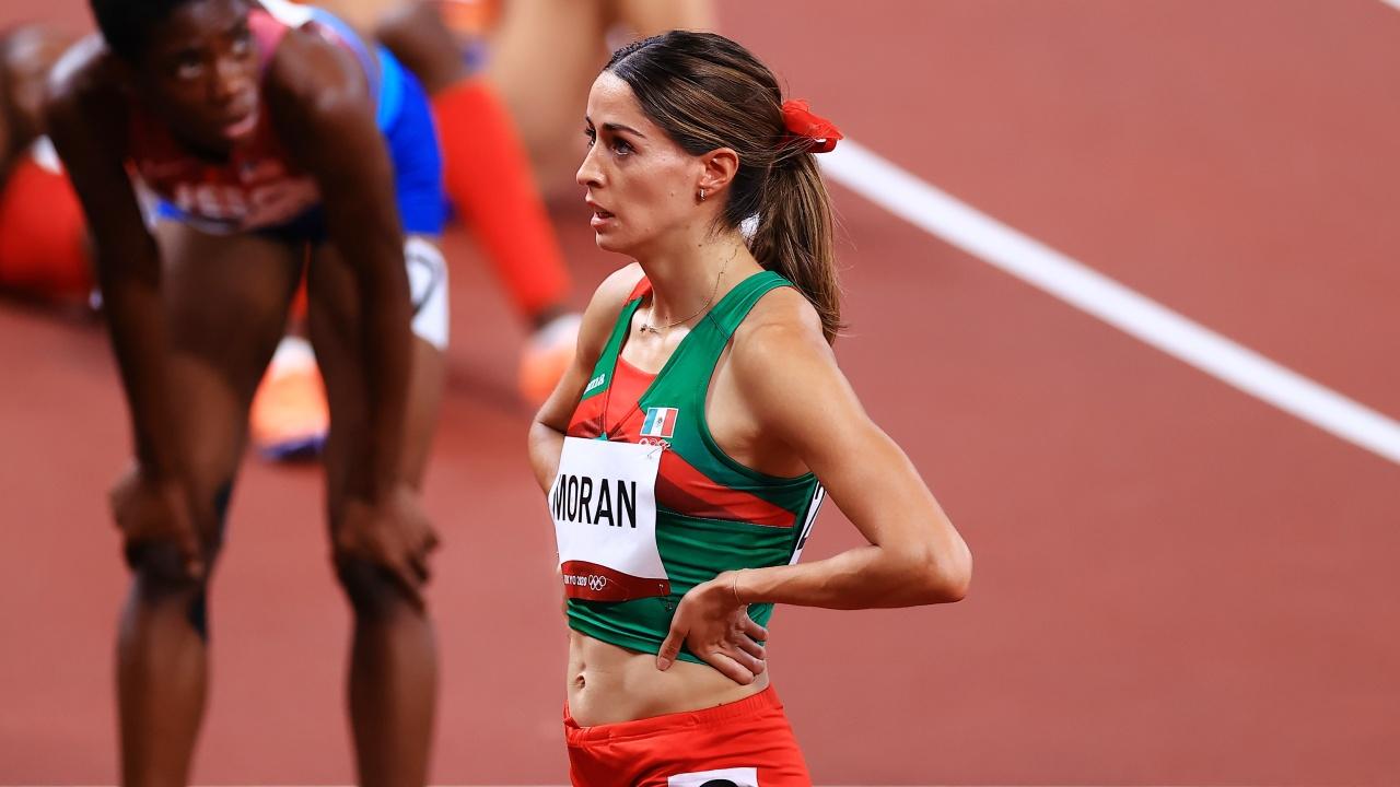 Tokyo 2020: Paola Morán no pudo avanzar a la final de los 400 metros planos  - Los Pleyers