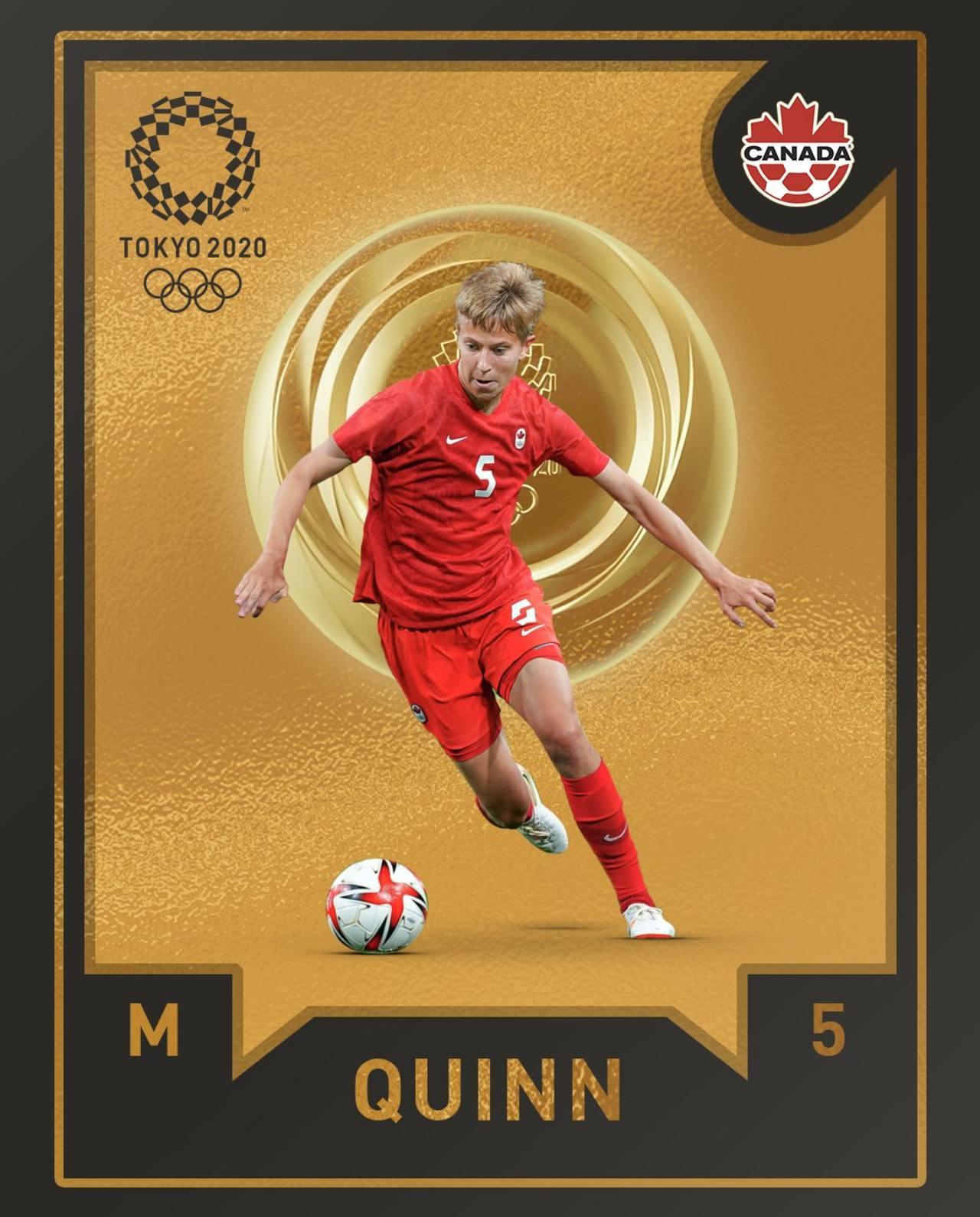 Tokyo 2020 Quinn persona trans medallista