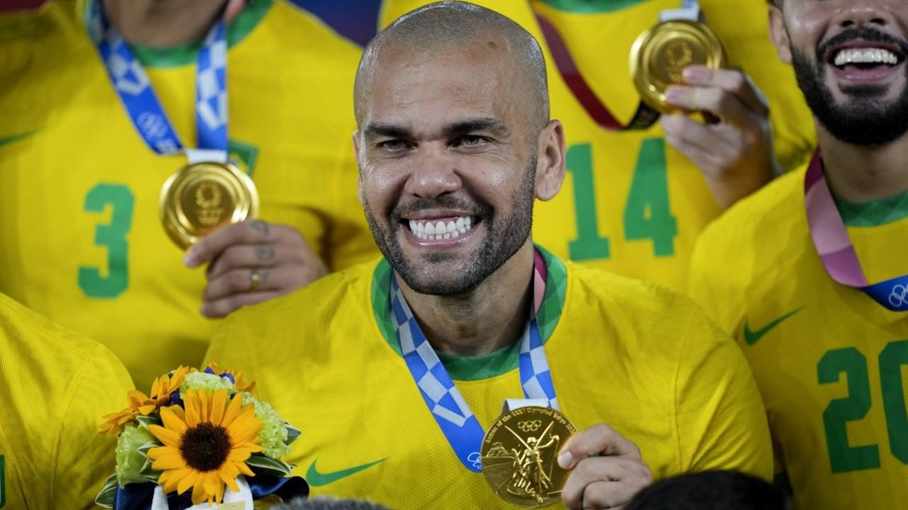 Tokyo 2020 Dani Alves medalla de oro