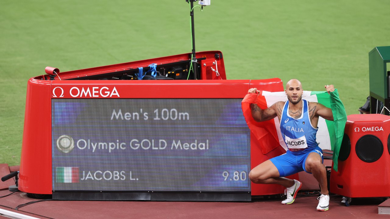 Tokyo 2020_ Marcell Jacobs 100 m planos atletismo
