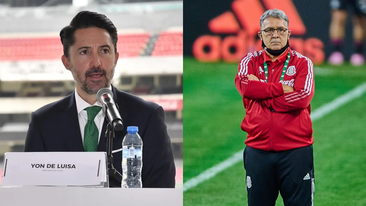 Tata Martino Yon de Luisa Selección Mexicana
