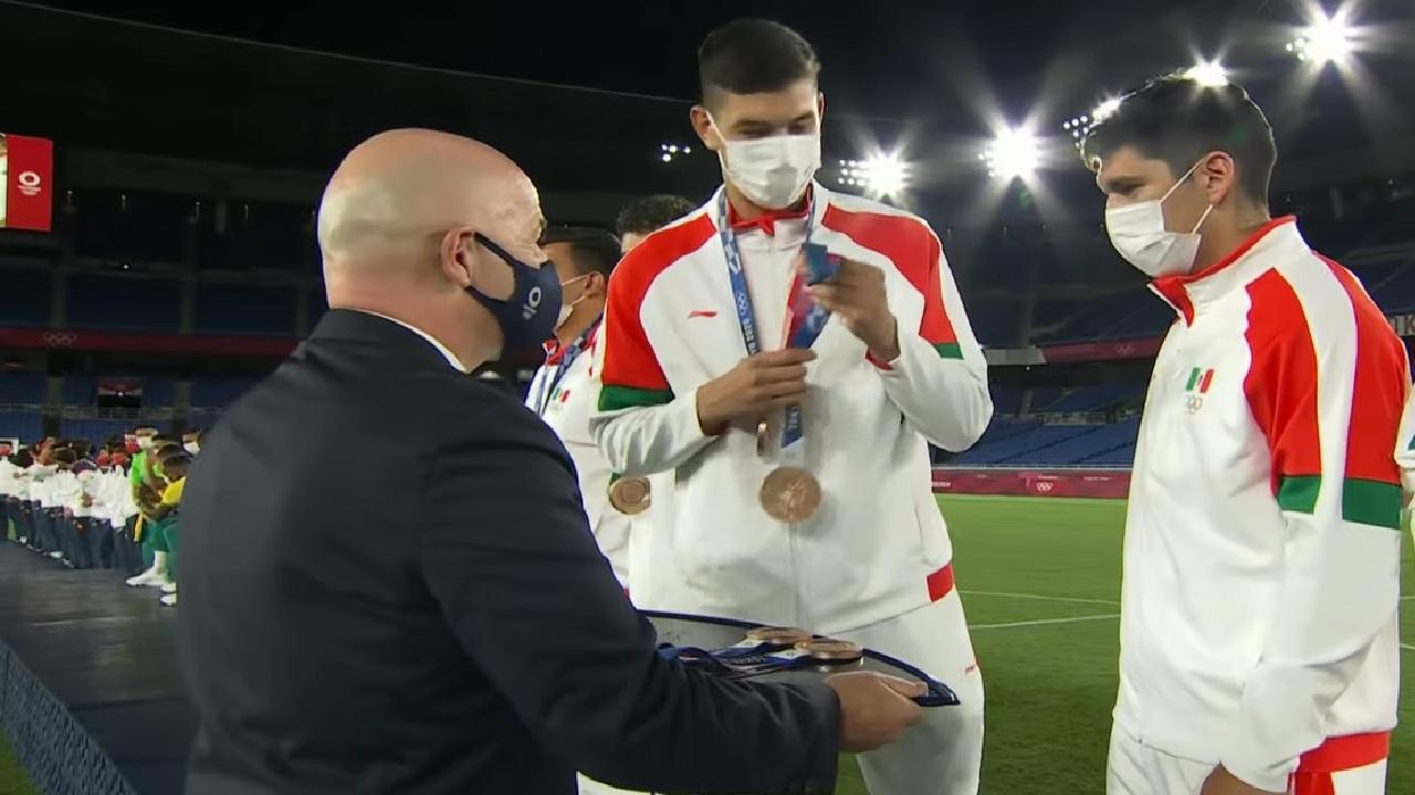 jugadores de la selección mexicana olímpica