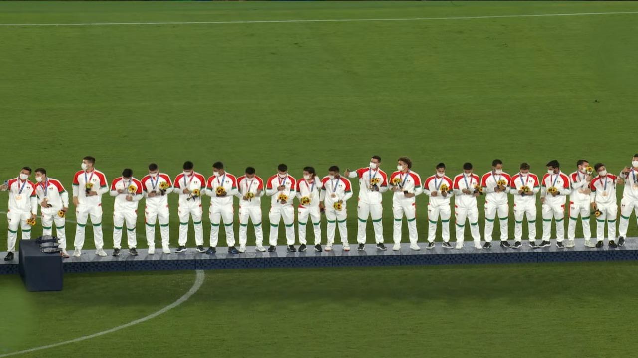 Selección Mexicana Olímpica Tokyo 2020 bronce