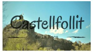 Un pueblo al borde el precicipio: Castellfollit de la Roca