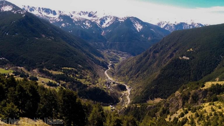 Una ruta en coche por los miradores de Andorra
