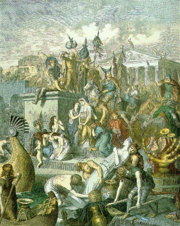 Romanos y Bárbaros