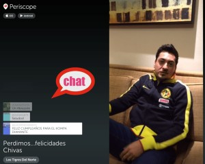 chat periscope