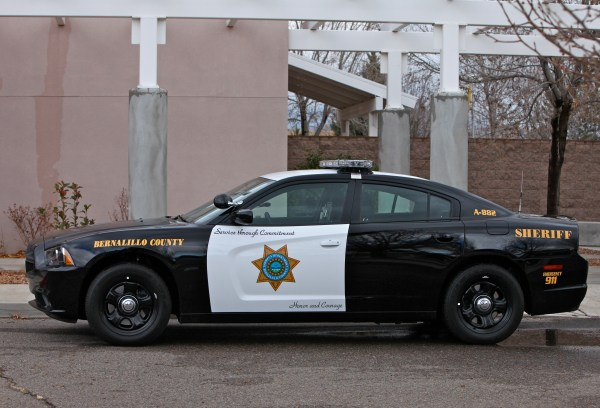 Bernalillo County Sheriff Department Car - Year of Clean Water