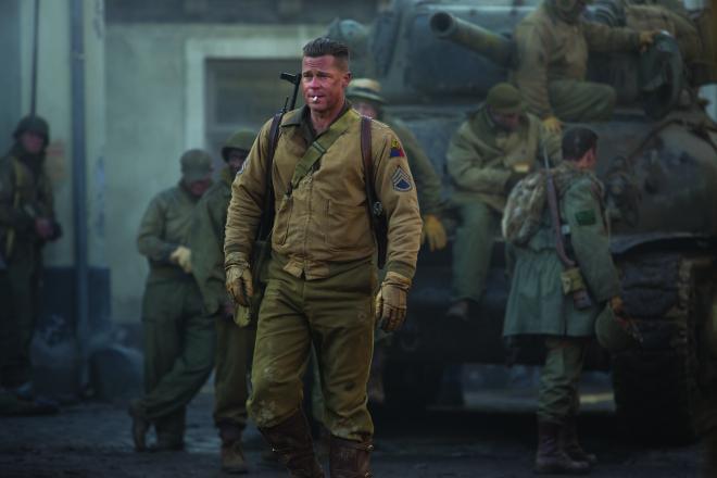 Brad Pitt;Jason Isaacs