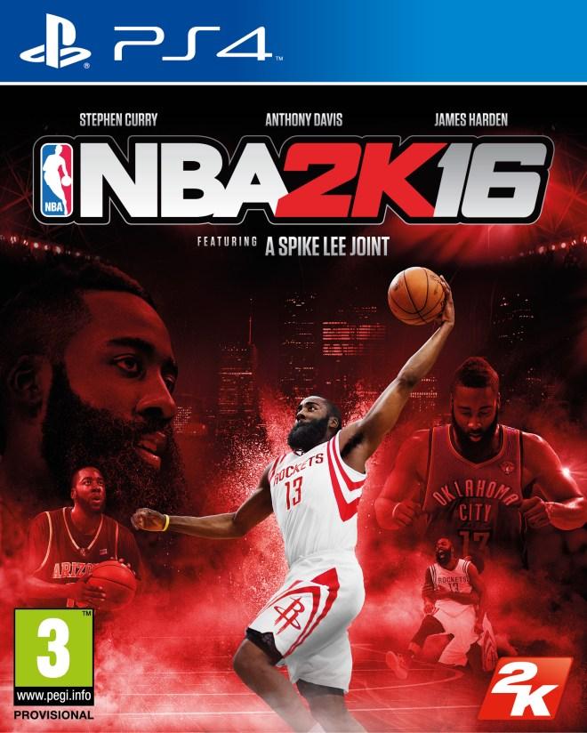 NBA 2K15 PS4 FOB HARDEN SPA