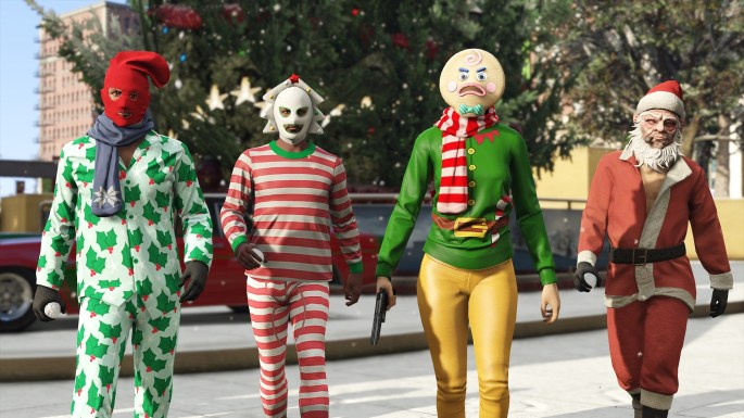 Festive GTAV Screenshot