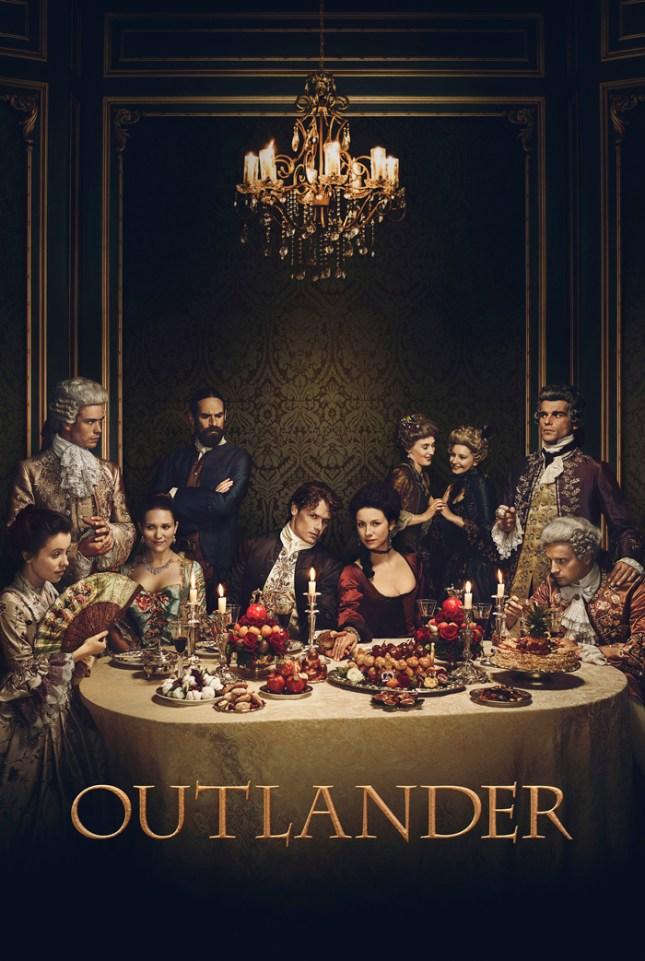 Outlander Season 2 Marketing Shoot