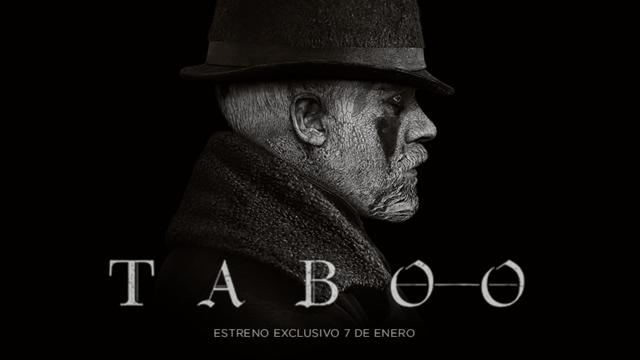 Taboo nueva serie producida por Ridley Scott se estrena el 7 de Enero