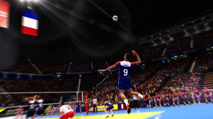 Spike Volleyball 03
