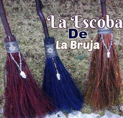 LA ESCOBA DE LA BRUJA ~ LIMPIAR, CONSAGRAR Y CARGAR