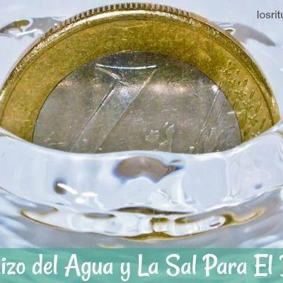 Hechizo del Agua y la Sal para el Dinero