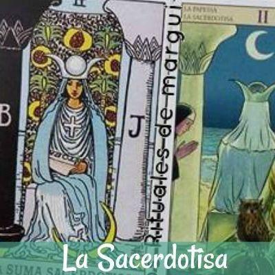 Tarot la carta de La Sacerdotisa
