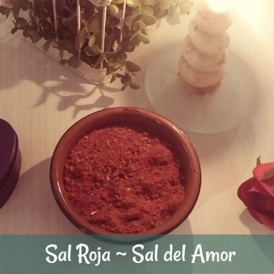 Cómo se hace la Sal Roja ~ Sal del Amor