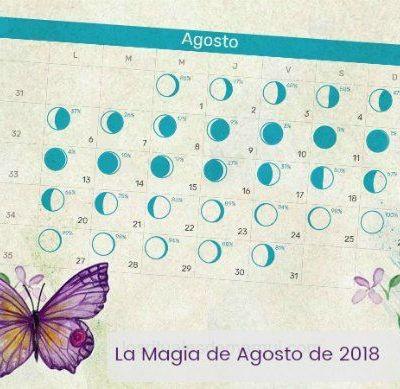 la magia de agosto de 2018