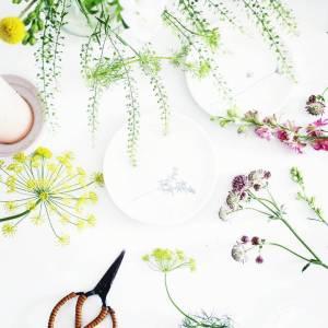 Flatlay bloemen op lossebloemen.nl