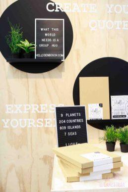 Letterborden is hot - gepot op show up 2017
