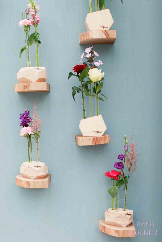 Trends Hamerhaai Losse bloemen in vaas showup 2017