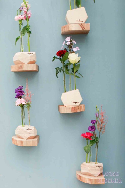 Trends Hamerhaai Losse bloemen in vaas showup 2017