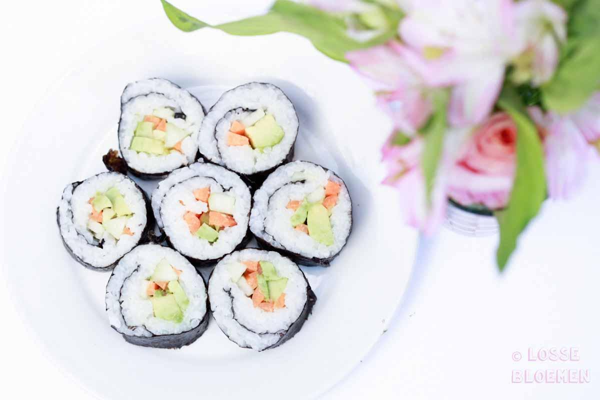 ossebloemen. nl hoe maak ik plantaardige sushi stappenplan