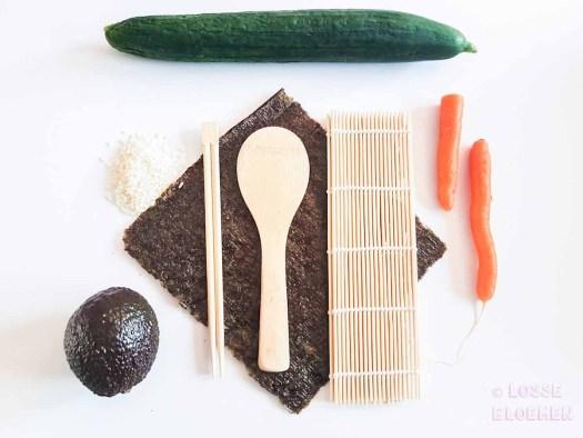 Ingredienten lossebloemen. nl hoe maak ik plantaardige sushi stappenplan stap 1