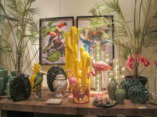 gele cactus lossebloemen maison et object parijs tropical