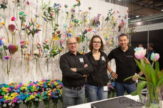 HAPPY COLORS BVLossebloemen trade fair Royalfloaholland Aalsmeer 9 nov 2018 - bloemenblog lossebloemen.nl