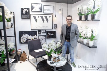 VW orchidee Lossebloemen trade fair Royalfloaholland Aalsmeer 9 nov 2018 - bloemenblog lossebloemen.nl