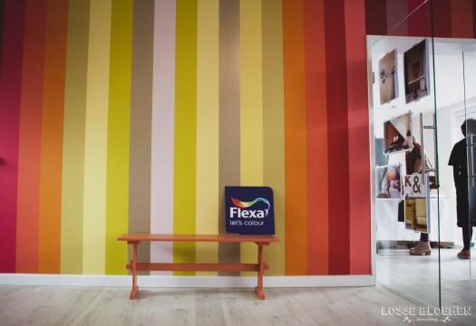 Bloggersdag Flexa - Creabever - Sikkens experience center SEC blog lossebloemen