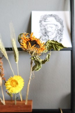 Flowergram | Zonnebloem als droogbloemen Takii x Bloomon x Van Gogh Museum-12