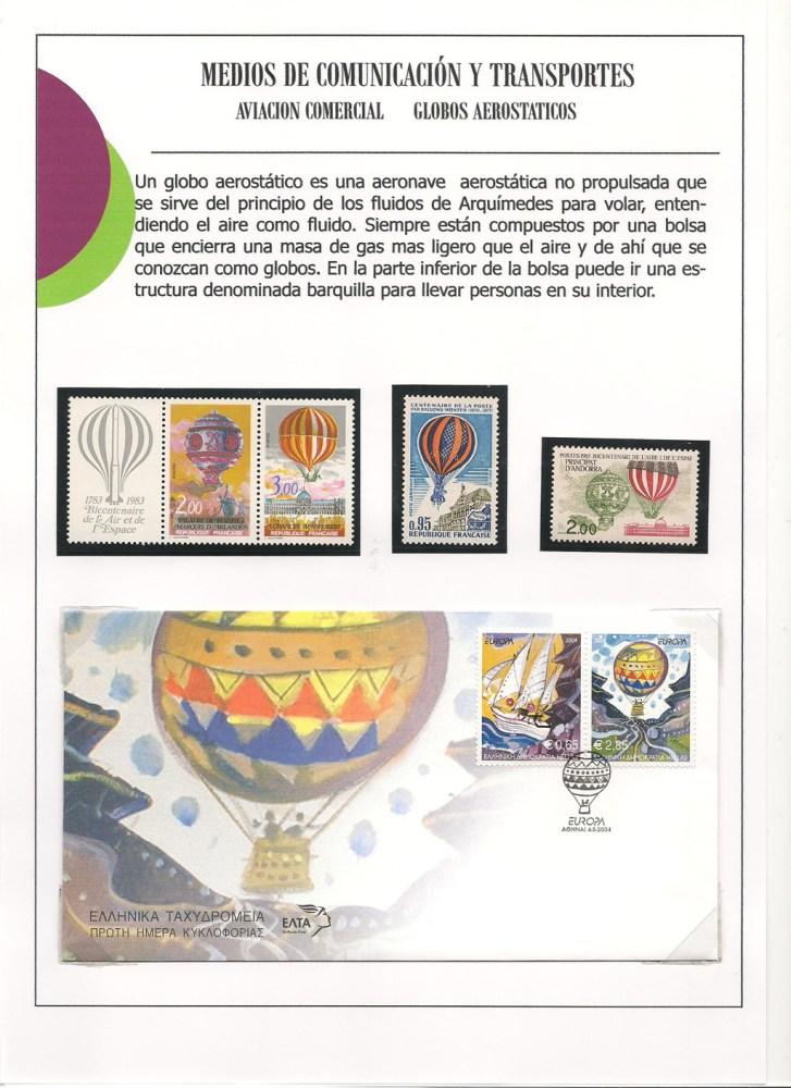 MEDIOS DE COMUNICACION Y TRANSPORTES AEREOS.    (2/6)