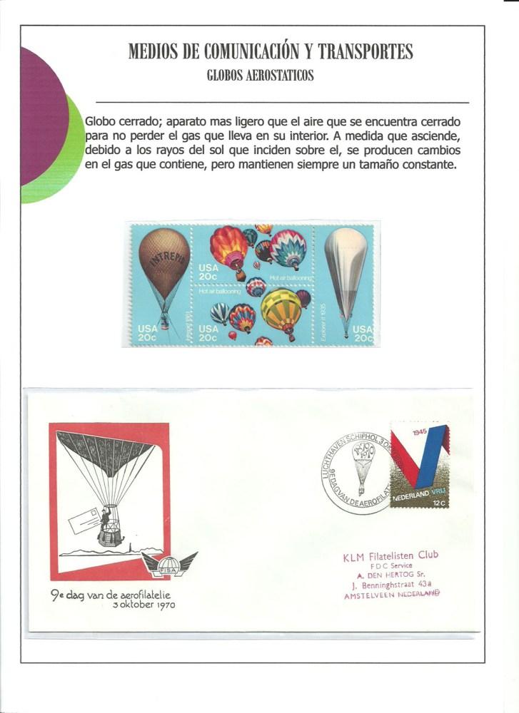 MEDIOS DE COMUNICACION Y TRANSPORTES AEREOS.    (1/6)