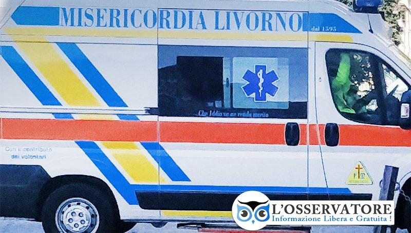 Scontro moto contro auto in via Di Popogna